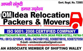 Om Idea Relocation Packers & Movers Patna
