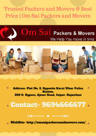 Om Sai Packers And Movers Jaipur